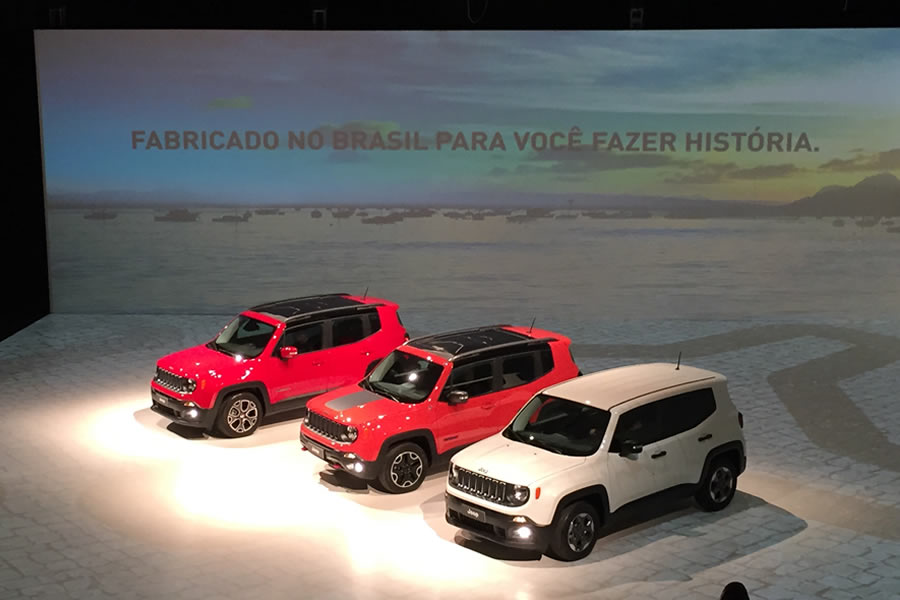 On April 28, the LPL participated with great pride the inauguration of the factory Jeep in Goiana