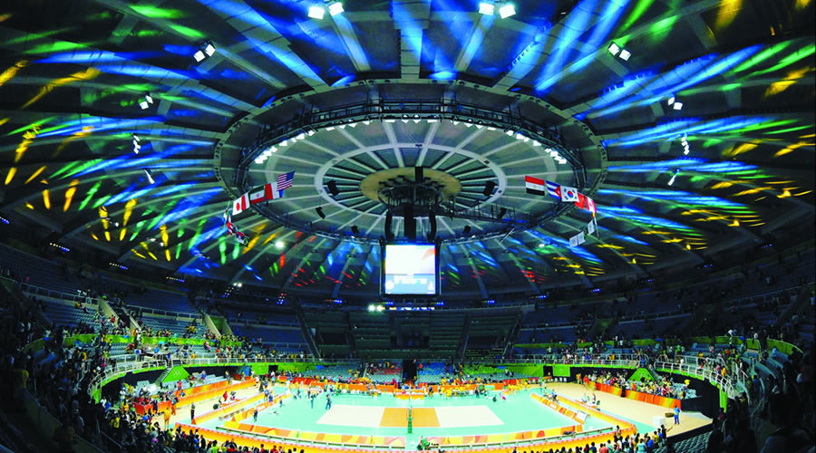 Projects developed by LPL lighting designers for stadiuns and big arenas opening.