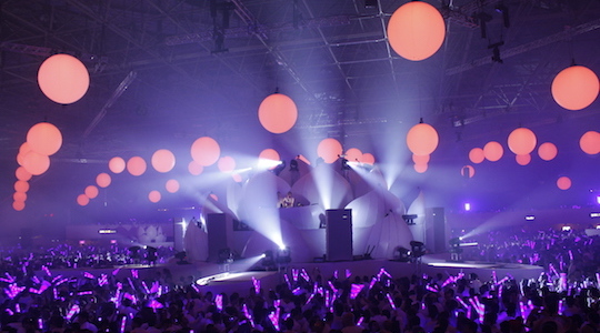 Lighting for major entertainment events and private parties with special attention to each project.